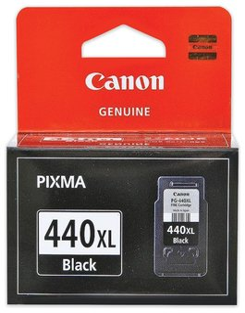 Картридж струйный CANON (PG-440XL) PIXMA MG2140/3140/3540/4240, черный, оригинальный, ресурс 600 стр., увеличенная емкость
