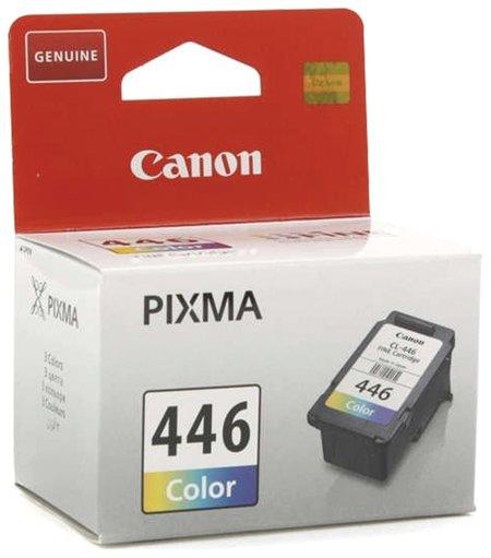 Картридж струйный CANON (CL-446) PIXMA MG2440/PIXMA MG2540, цветной, оригинальный, ресурс 180 стр.   Canon