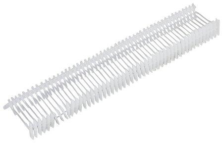Соединители-биркодержатели пластиковые для игловых пистолетов, тонкая игла, 15 мм, комплект 5000 шт., BRAUBERG  Brauberg