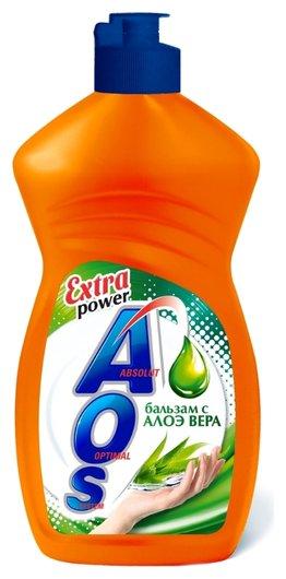 Средство для мытья посуды Бальзам с Алоэ Вера  Aos