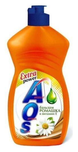 Средство для мытья посуды Бальзам ромашка и витамин Е  Aos