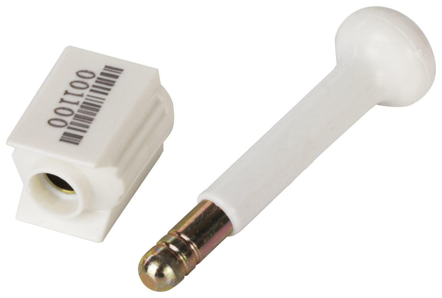Пломбы металло-пластиковые стержневые, диаметр стержня 10 мм, комплект 10 шт.   КНР