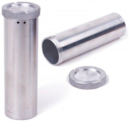 Пенал для хранения ключей дюралевый, длина 120 мм, диаметр 60 мм  Новейшие технологии