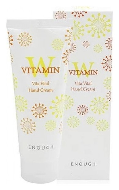 Крем для рук с витаминами W Collagen Vita Hand Cream  Enough (Инаф)