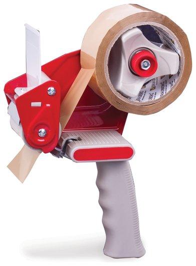 Диспенсер для клейкой упаковочной ленты Brauberg, для ленты шириной до 50 мм  Brauberg