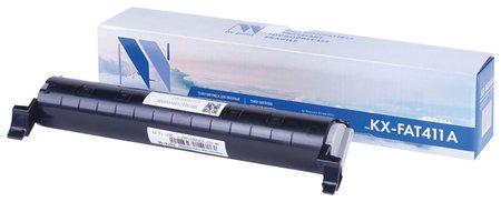 Тонер-картридж NV PRINT (NV-KX-FAT411A) для PANASONIC KX-MB1900/2000/2020/2030, ресурс 2000 стр.  Nv print
