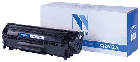 Картридж лазерный Nv Print (Nv-q2612a) для Hp Laserjet 1018/3052/м1005, ресурс 2000 стр.  Nv print