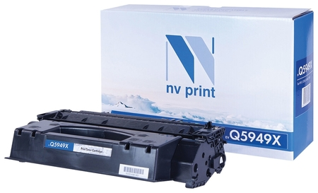 Картридж лазерный Nv Print (Nv-q5949x) для Hp Laserjet 1320/3390/3392, ресурс 6000 стр. Nv print