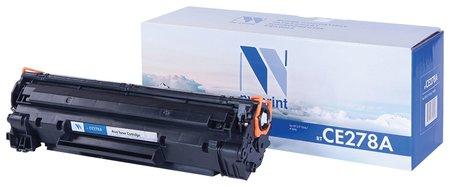 Картридж лазерный Nv Print (Nv-ce278a) для Hp Laserjet P1566/1606dn, ресурс 2100 стр.  Nv print