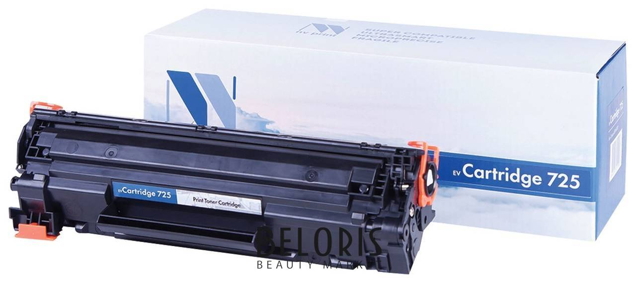 Картридж лазерный Nv Print (Nv-725) для Canon Lbp6000/6020/6020b, ресурс 1600 стр. Nv print