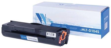 Картридж лазерный Nv Print (Nv-mlt-d104s) для Samsung Ml-1660/1665/1667, ресурс 1500 стр.  Nv print