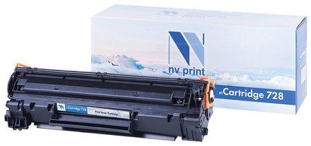 Картридж лазерный Nv Print (Nv-728) для Canon Mf4410/4430/4450/4550dn/4580dn, ресурс 2100 стр.  Nv print
