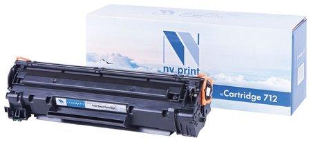 Картридж лазерный Nv Print (Nv-712) для Canon Lbp-3010/3100, ресурс 1500 стр.  Nv print