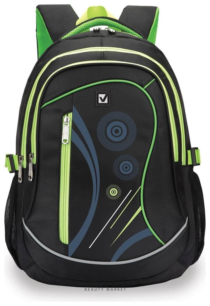 Рюкзак BRAUBERG для старших классов/студентов/молодежи, Неон, 30 литров, 46х34х18 см Brauberg