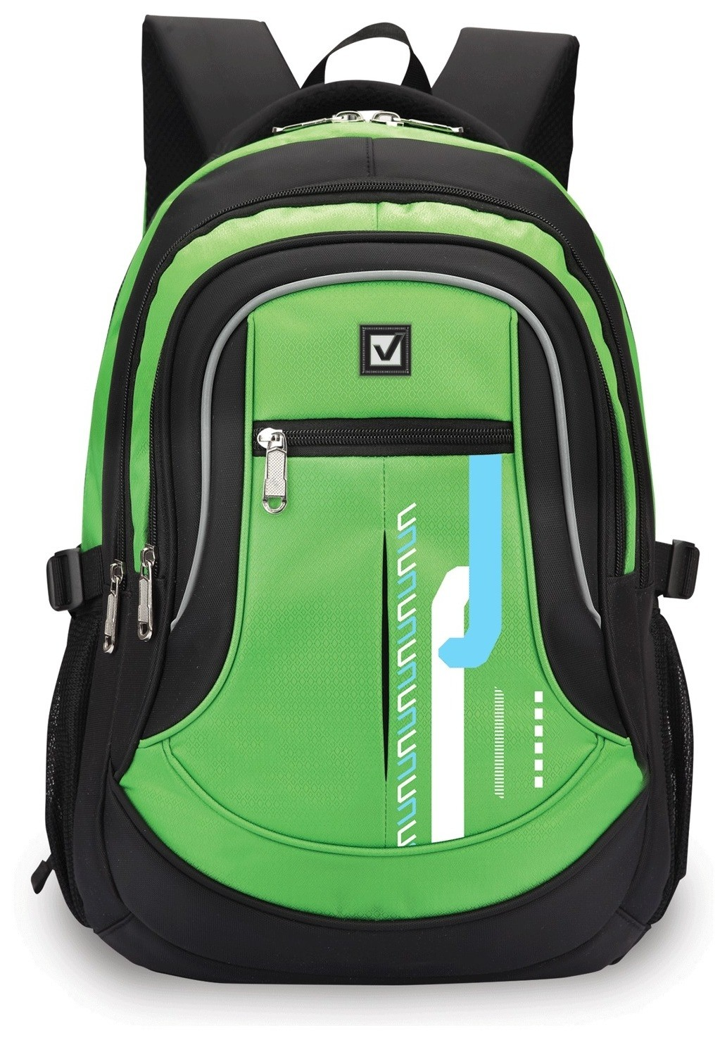 "Рюкзак BRAUBERG для старших классов/студентов/молодежи, ""Лайм"", 30 литров, 46х34х18 см  Brauberg"