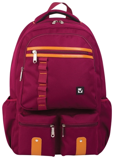 "Рюкзак BRAUBERG для старшеклассников/студентов/молодежи, ""Джерси"", 27 литров, 46х31х14 см  Brauberg"