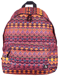 "Рюкзак BRAUBERG универсальный, сити-формат, оранжевый, ""Сафари"", 23 литра, 43х34х15 см  Brauberg"