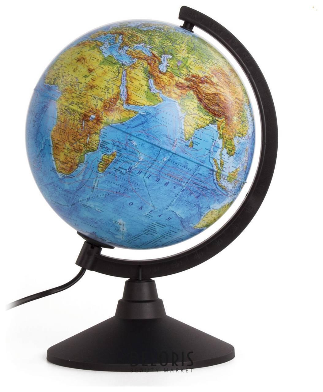 Глобус физико-политический с подсветкой Классик, диаметр 21 см Globen