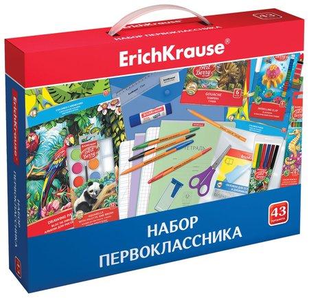Набор для первоклассника в подарочной упаковке  Erich krause