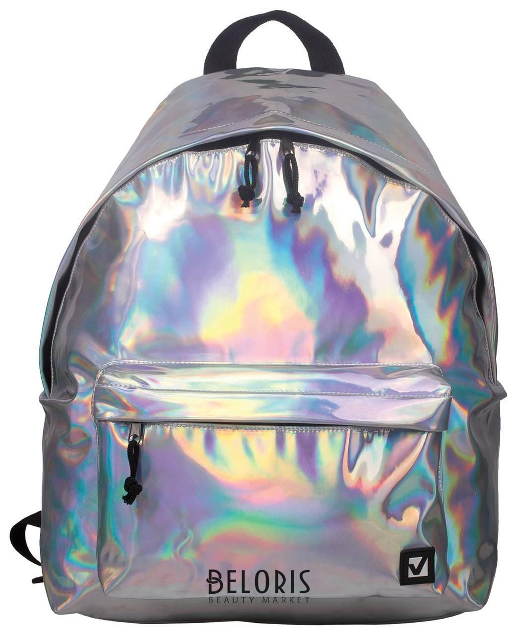 Рюкзак BRAUBERG универсальный, сити-формат, цвет-серебро, Винтаж, 20 литров, 41х32х14 см Brauberg