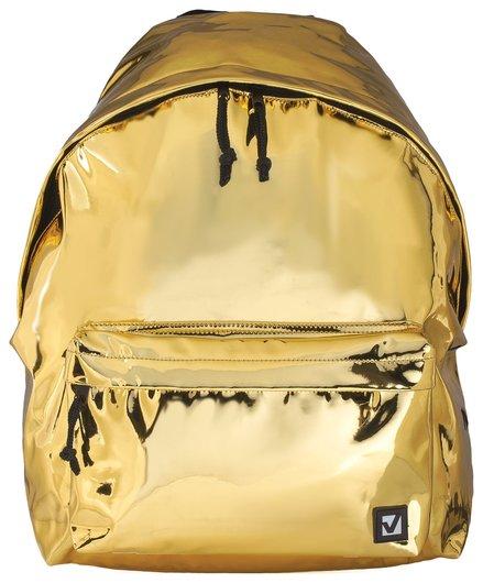 """Рюкзак BRAUBERG молодежный, сити-формат, """"Винтаж"""", светло-золотой, 41х32х14 см  Brauberg"""