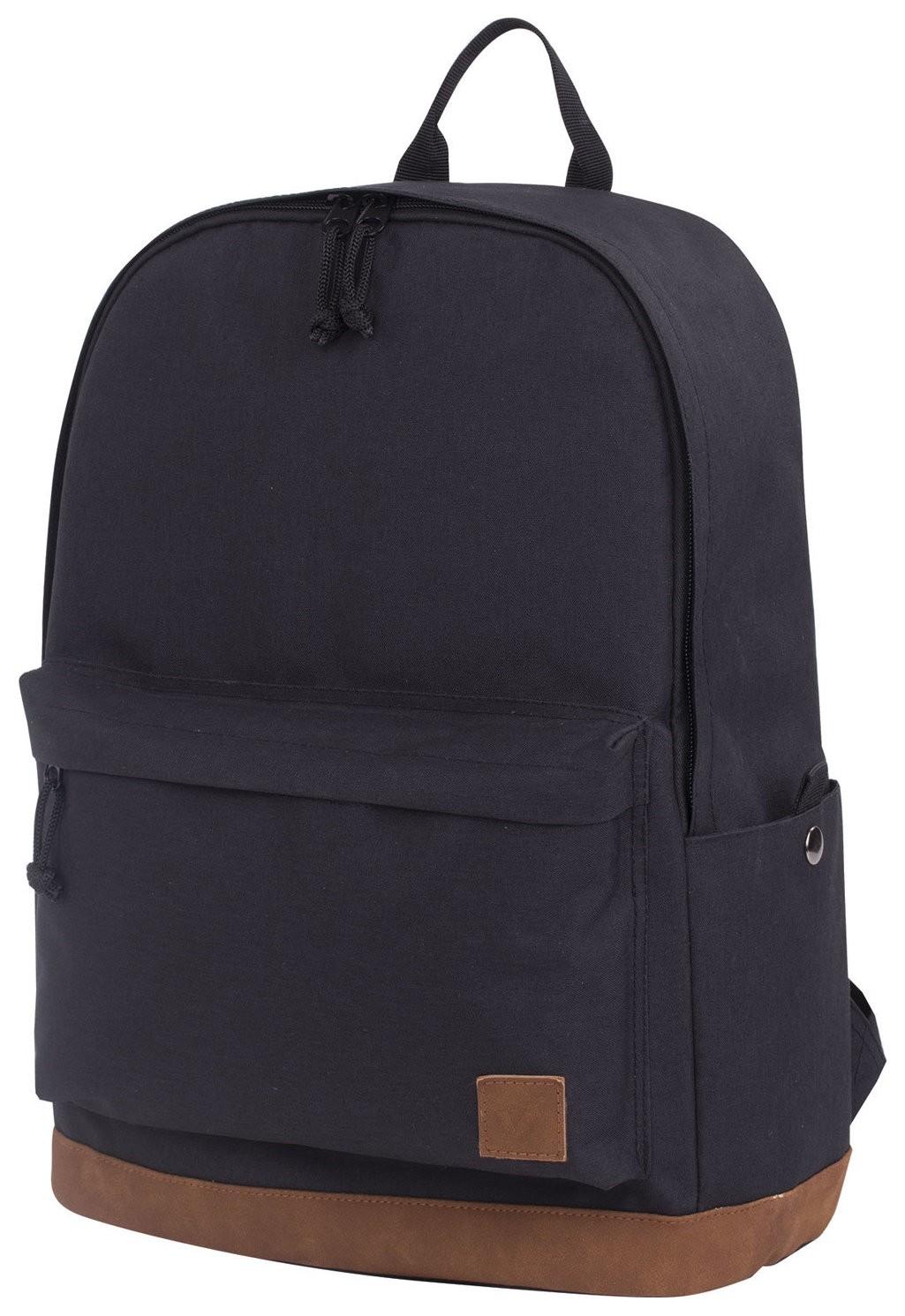 Рюкзак BRAUBERG универсальный, сити-формат, Black Melange, с защитой от влаги, 43х30х17 см   Brauberg
