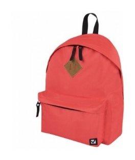 Рюкзак BRAUBERG, универсальный, сити-формат, один тон, персик, 20 литров, 41х32х14 см  Brauberg