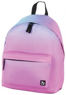 Рюкзак BRAUBERG, универсальный, сити-формат, Градиент, 20 литров, 41х32х14 см