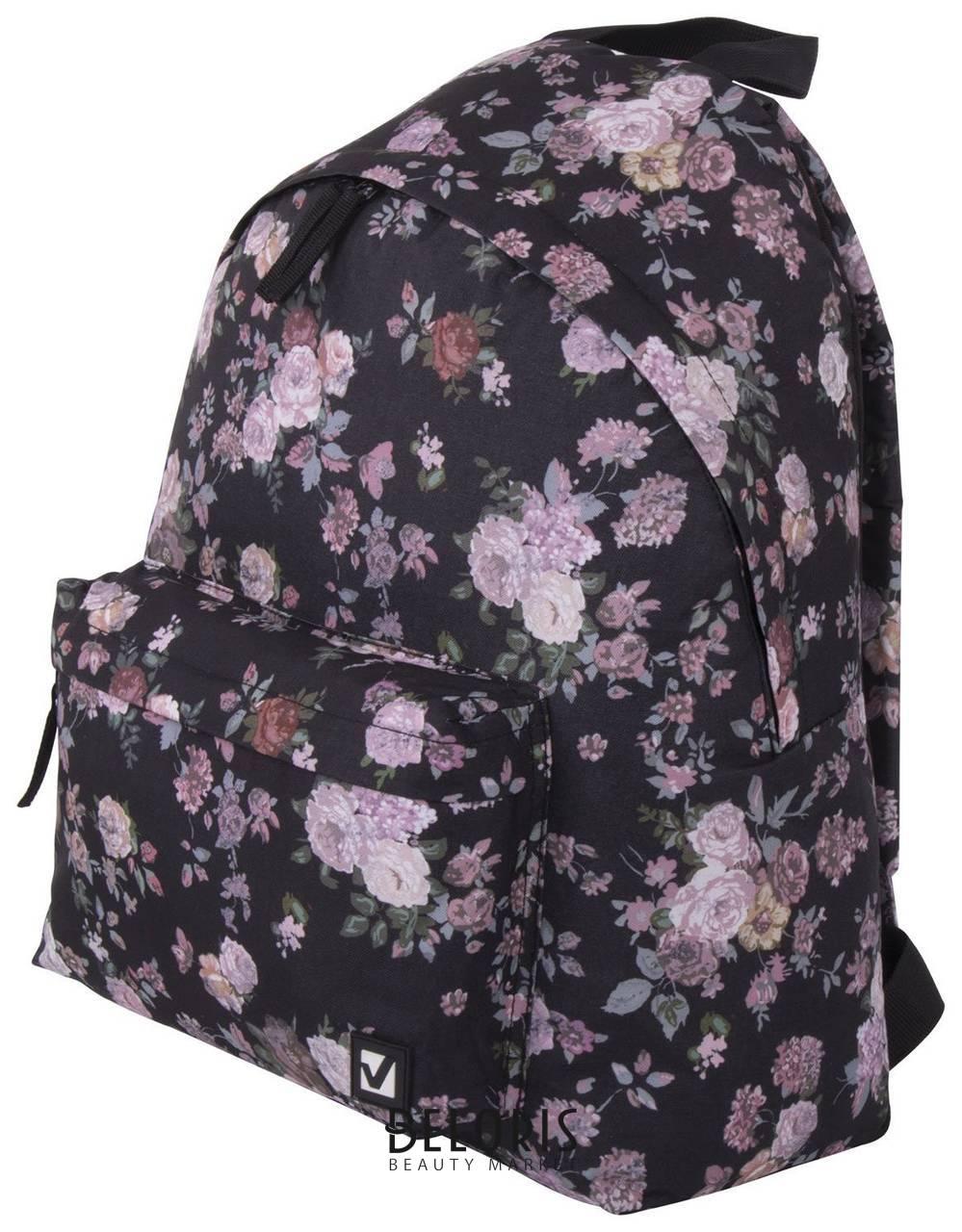 Рюкзак BRAUBERG, универсальный, сити-формат, Розы, 20 литров, 41х32х14 см Brauberg
