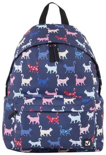 Рюкзак BRAUBERG, универсальный, сити-формат, Коты, 20 литров, 41х32х14 см  Brauberg