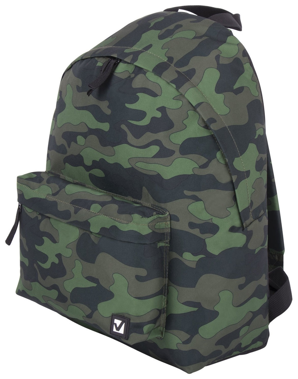 Рюкзак BRAUBERG, универсальный, сити-формат, Зеленый камуфляж, 20 литров, 41х32х14 см Brauberg