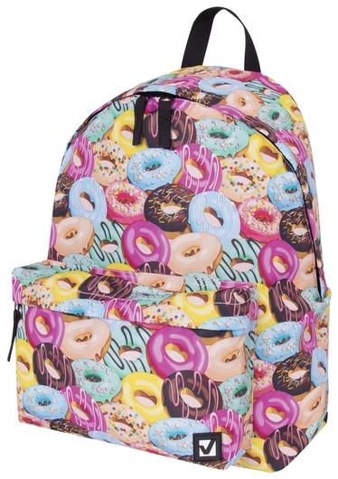 Рюкзак BRAUBERG, универсальный, сити-формат, Donuts, 20 литров, 41х32х14 см  Brauberg