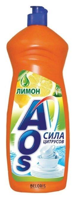 Средство для мытья посуды Лимон Aos