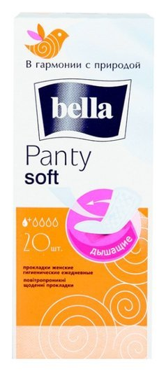 Прокладки ежедневные Panty Soft  Bella
