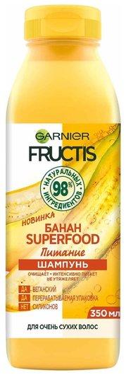 Шампунь для питания волос SuperFood Банан  Garnier