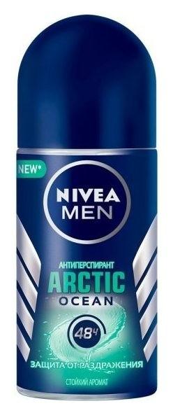 Дезодорант-антиперспирант шариковый Arctic Ocean  Nivea