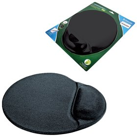 Коврик для мыши DEFENDER, полиуретан+лайкра, 260х225х5 мм, черный   Defender