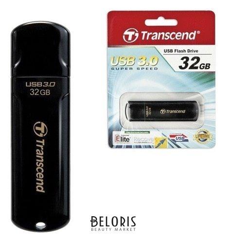 Флэш-диск 32 GB, TRANSCEND Jetflash 700, USB 3.0, черный  Transcend