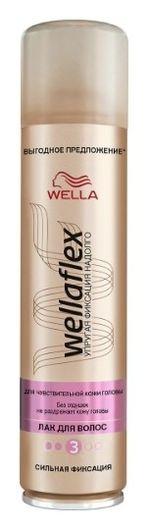 Лак для волос для чувствительной кожи головы сильной фиксации Wellaflex  Wella Professional