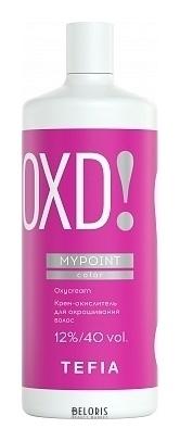 Крем-окислитель для окрашивания волос 12% / 40 Vol Tefia MYPOINT