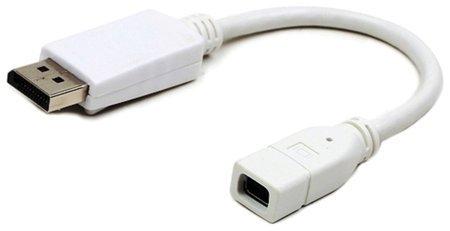 Кабель-переходник miniDisplayPort-DisplayPort, 0,16 м  Cablexpert