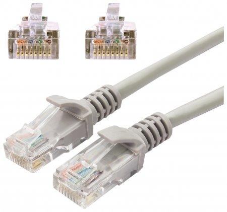 Кабель (патч-корд) UTP 5e категория, RJ-45, 20 м для подключения по локальной сети LAN  Cablexpert