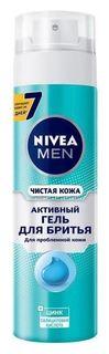 Гель для бритья для проблемной кожи с цинком и салициловой кислотой Nivea
