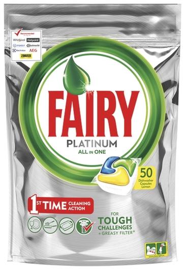 Капсулы для посудомоечных машин All in 1 Fairy