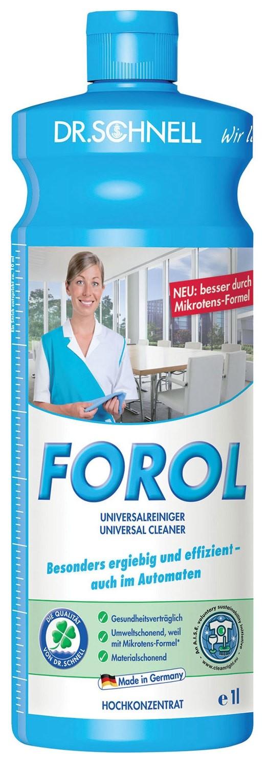 Чистящее средство для водостойких поверхностей Forol  Dr. Schnell