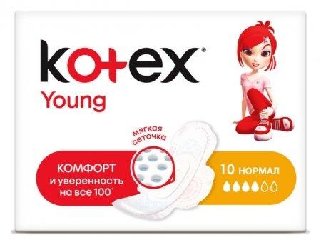 Прокладки ультратонкие Young Normal  Kotex