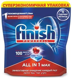 Таблетки для мытья посуды в посудомоечных машинах All in 1