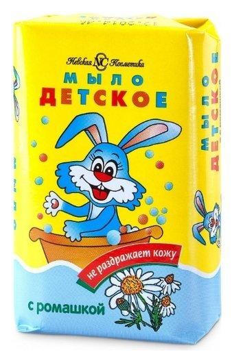 Мыло туалетное Детское с ромашкой  Невская косметика