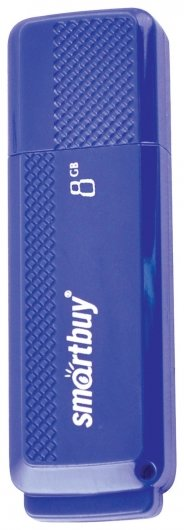 Флэш-диск 8 GB, SMARTBUY Dock, USB 2.0, синий   Smartbuy