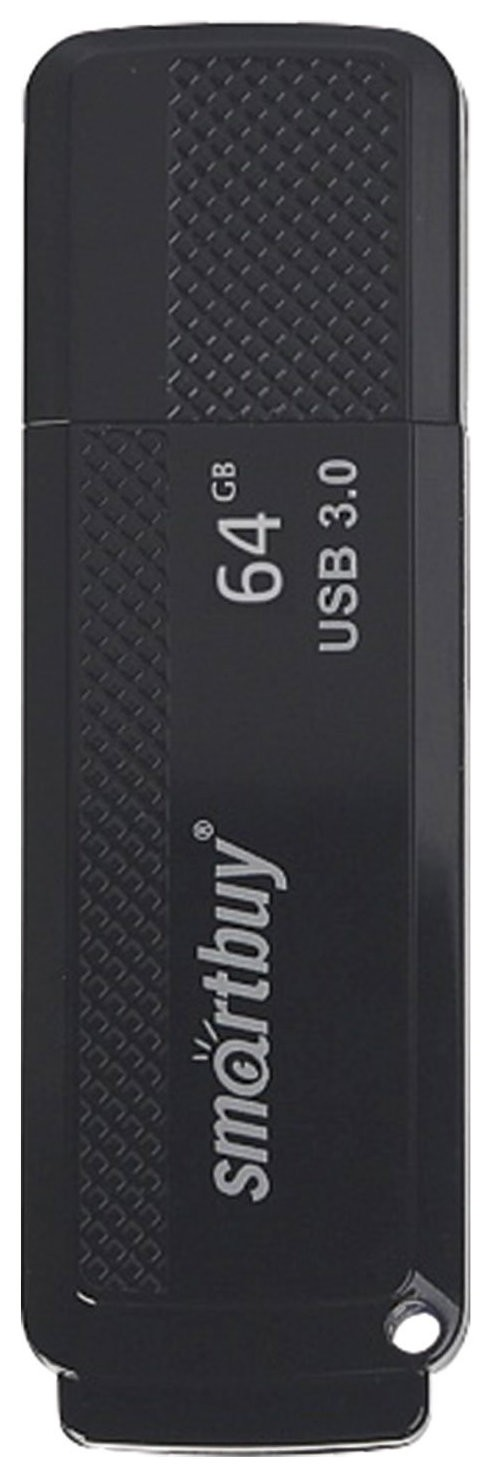 Флэш-диск 64 GB SMARTBUY Dock USB 3.0, черный   Smartbuy